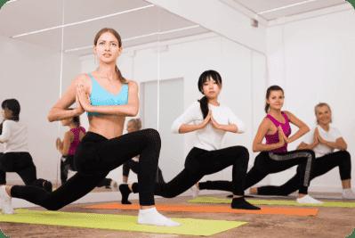 Group Classes Like Crossfit, Zumba, Yoga & More
